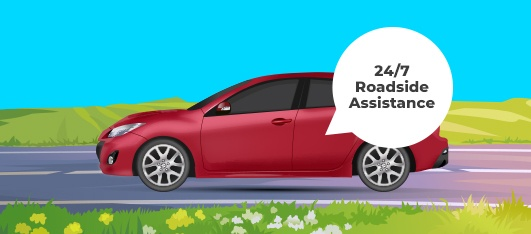 Our roadside assistance provides commuters a peace of mind while driving their car.